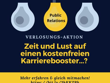 """Jetzt gewinnen! Kostenfreie Teilnahme an der IST-Weiterbildung """"Public Relations"""""""