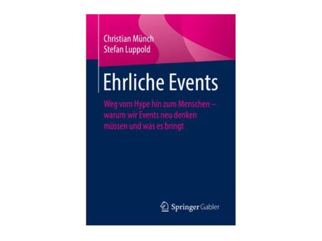 """Buchtipp: """"Ehrliche Events"""""""