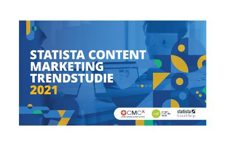 Content Marketing Trendstudie 2021 von statista jetzt kostenfrei downloaden!