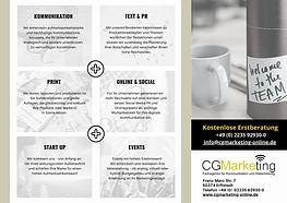 Flyer CG Marketing S. 3