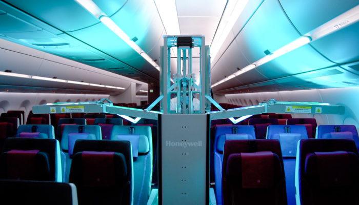 UV-Kabinenreinigungssystem von Honeywell