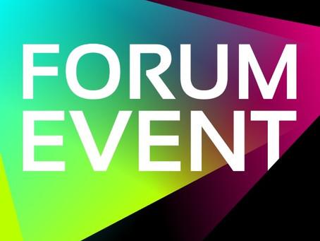 Das Programm für das 4. FORUM EVENT steht!