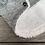 """Thumbnail: Mantel """"Kirsche"""" grau"""