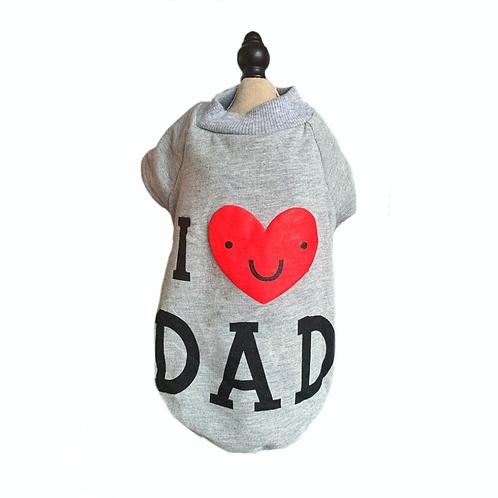 "Pullover Gr.M ""I love ""Dad"""
