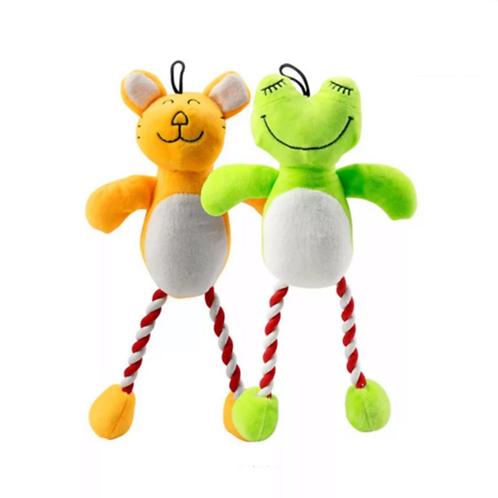 Hundespielzeug Bär/Frosch