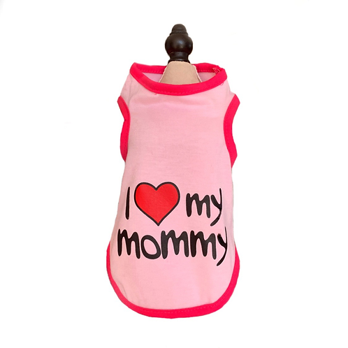 "T-Shirt ""I love Mommy"""