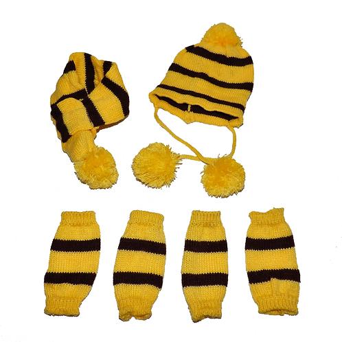 Haube Schal und Socken