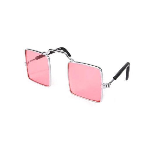 Brille rosa