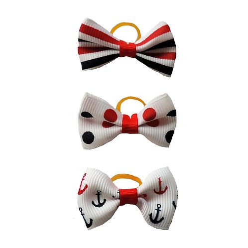 """Haarmaschen Set """"Anker"""""""