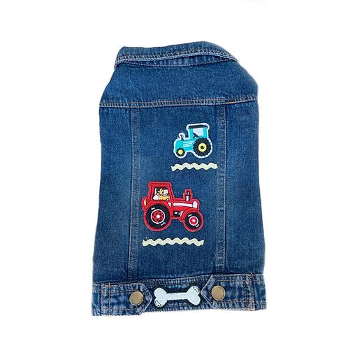"Jeansjacke ""Traktor"" Gr.L"