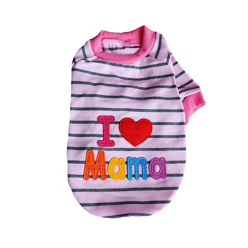 "T-Shirt ""I love Mama"""