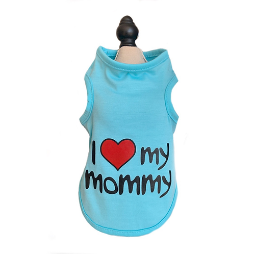 "T-Shirt ""I love Mommy"""