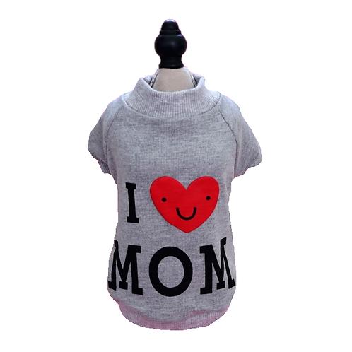 "Pullover ""I love MOM"""