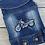 "Thumbnail: Jeansjacke ""Motorrad"""