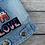 """Thumbnail: Jeansjacke """"LOVE"""" Gr. XS"""