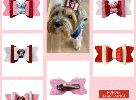 Hunde Haarspange 🥰