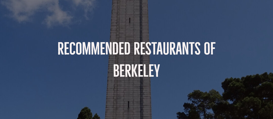Recommended Restaurants of Berkeley