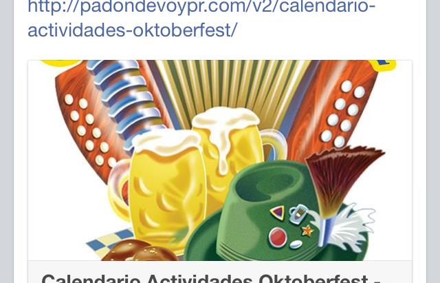 Oktoberfest activities
