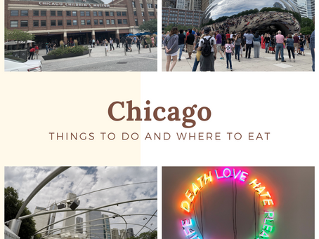 Things to do and where to eat: Chicago