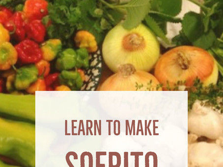Learn to Make Sofrito