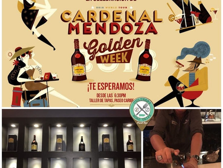 Cardenal Mendoza Golden Week