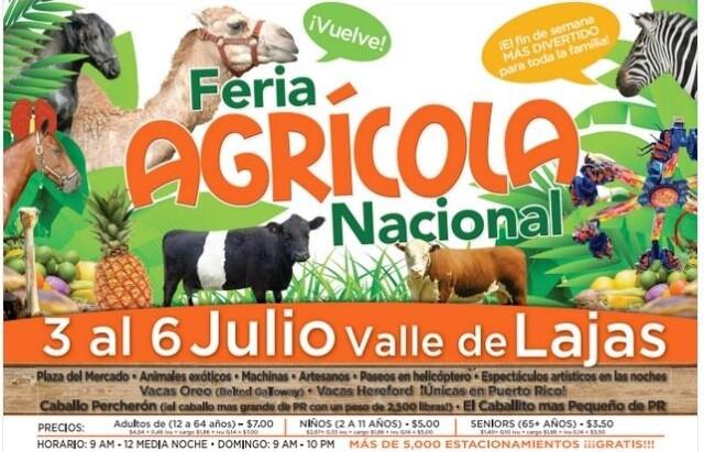 Feria agrícola del valle de lajas