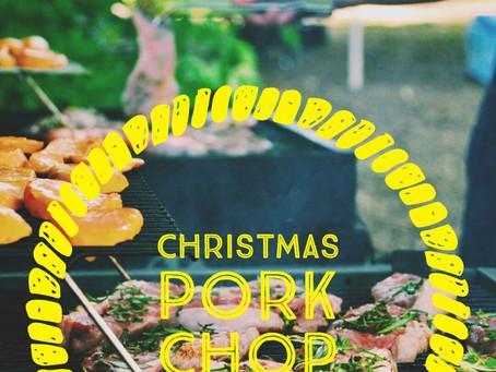 Christmas pork chops (chuleta navideña)