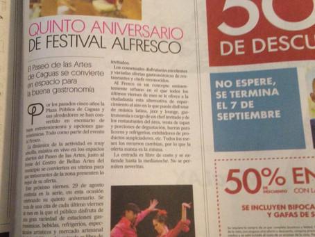 Festival al fresco @ caguas