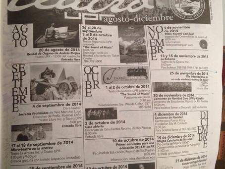 Events @ UPR Rio Piedras Theater