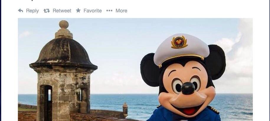 Disney cruise line @ PR
