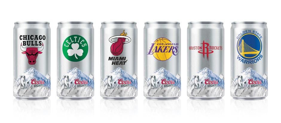 PROMO: Alianza entre Coors Light y NBA trae nuevas latas conmemorativas