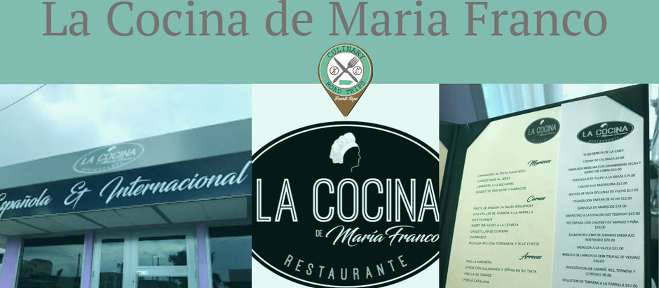 CHEF INTERVIEW: Chef Maria Franco-Cocina de Maria Franco