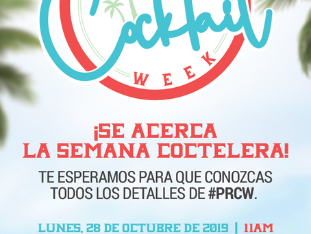 PROMO: Puerto Rico Cocktail Week UPDATE