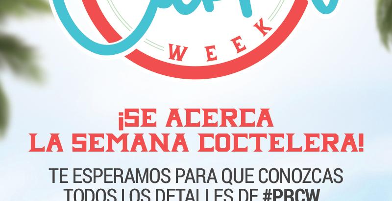 PROMO: Puerto Rico Cocktail Week UPDATE