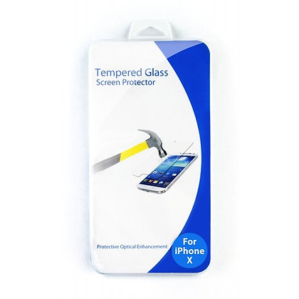 Clear Tempered Glass Protector for iPhone X & XS