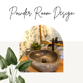 How To Design a Beautiful Powder Room