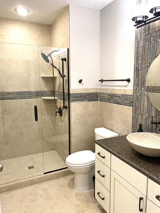 Basement Bathroom Finish
