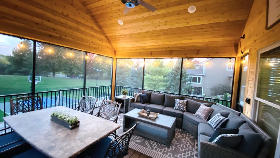 Screen Porch Retreat