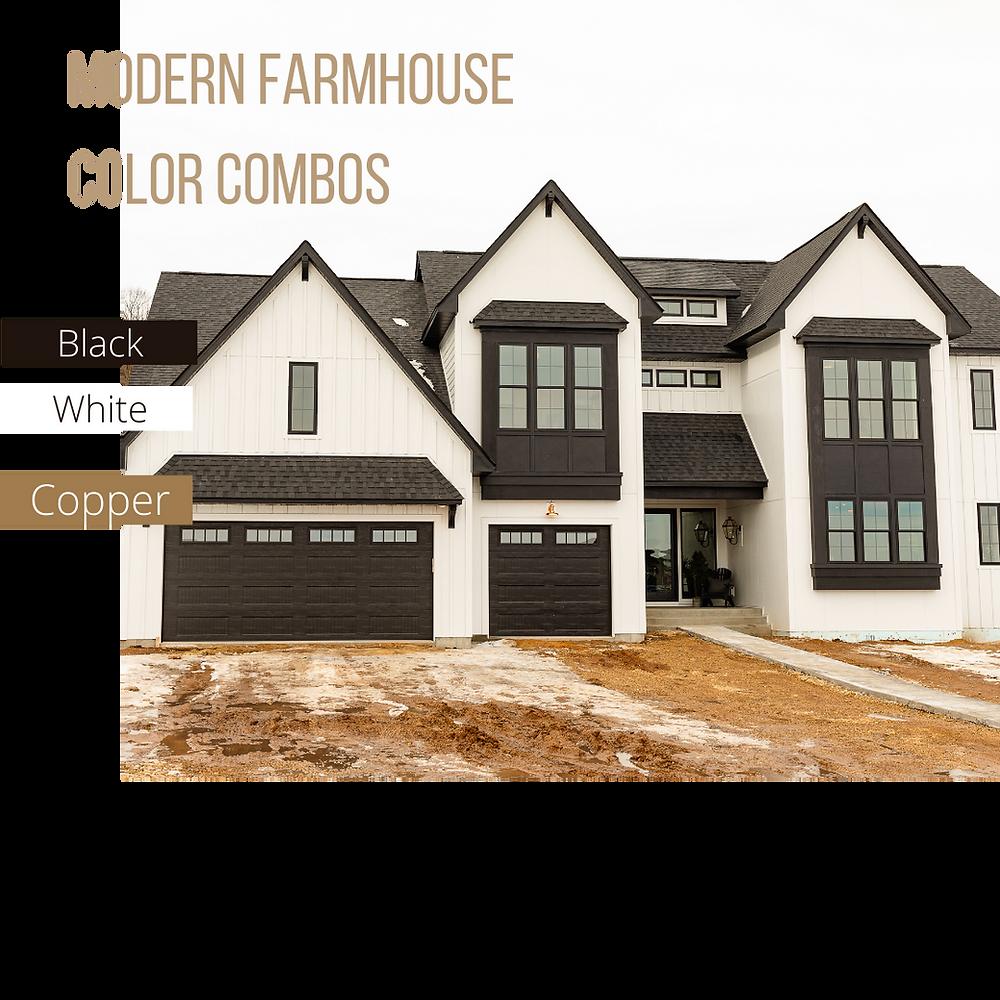 Modern Farmhouse Color Blocking