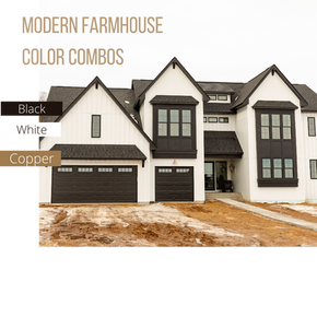 Modern Farmhouse: Styles & color schemes