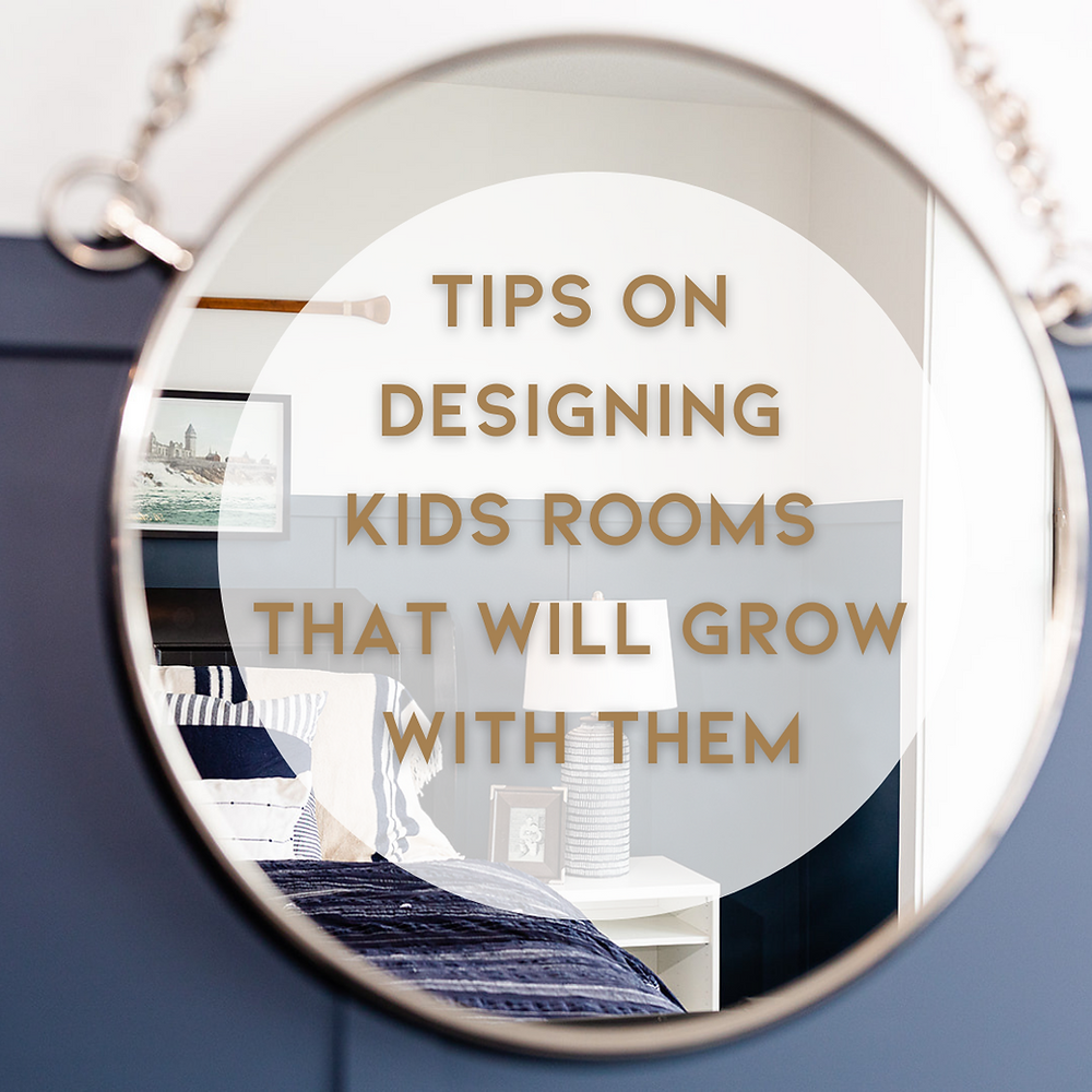 Tips on designing kids rooms