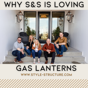 Copper Gas Lanterns