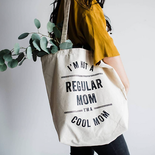 I'm a cool mom Large Tote Bag
