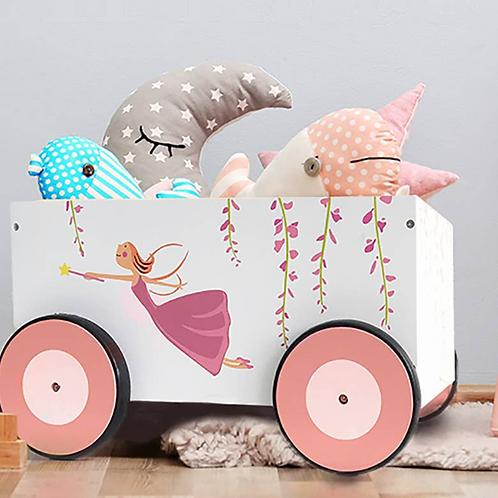 Storage Basket Toy Wagon