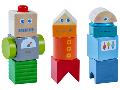 Robot Friends Discovery Blocks