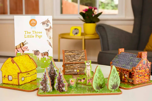 The Three Little Pigs Play-set & Book
