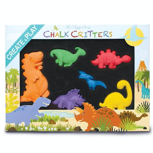 Dinosaur World Chalk Critters