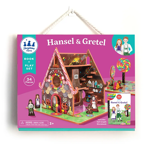 Hansel & Gretel Play-set& Book