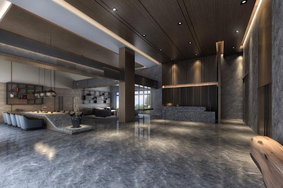 公設大廳3D