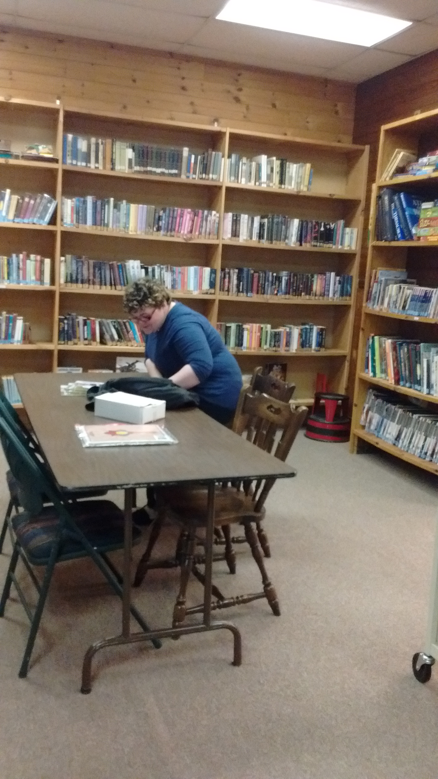 Working in the Library